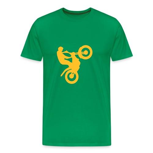 cross-style - Premium-T-shirt herr