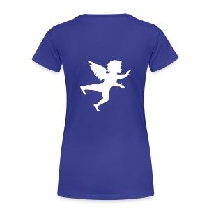 Angel! - Vrouwen Premium T-shirt