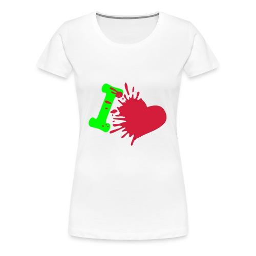 Love 1  - T-shirt Premium Femme