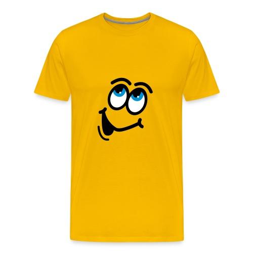 Happy Yellow - Mannen Premium T-shirt