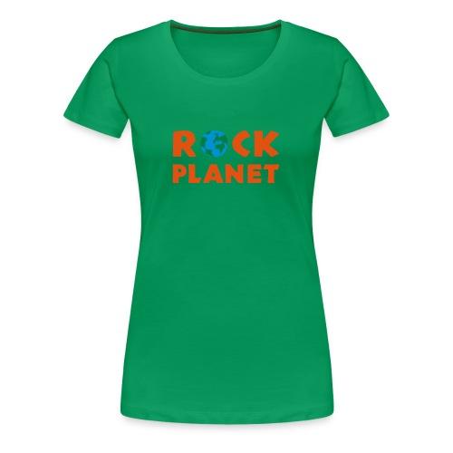 Shirt Girls ROCKPLANET - Frauen Premium T-Shirt