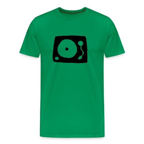 Turntable - Mannen Premium T-shirt
