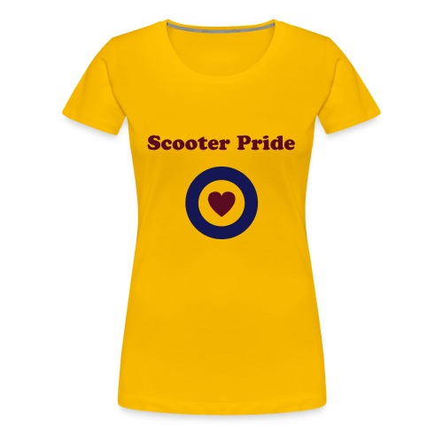 Scooter Pride pink - Women's Premium T-Shirt