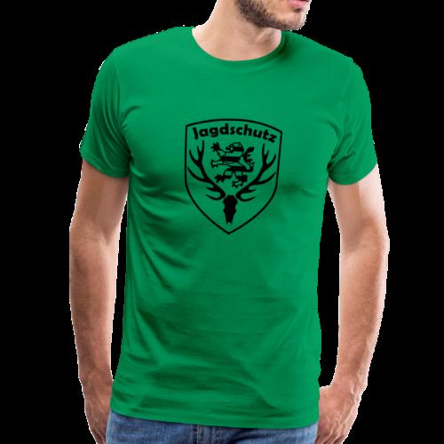 Jägershirt Jagdschutz Hessen - Männer Premium T-Shirt