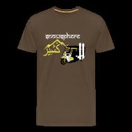 T-Shirts ~ Men's Premium T-Shirt ~ Snowboard Kashmir Ricksaw