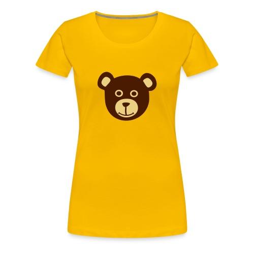 teddybear - Naisten premium t-paita