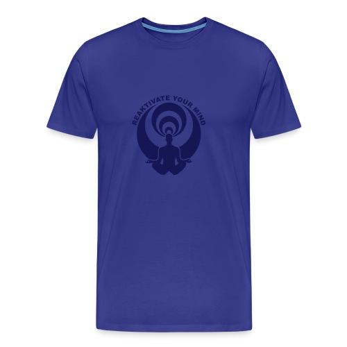 reactivateyourmind07 T-Shirt (h) bleu - T-shirt Premium Homme