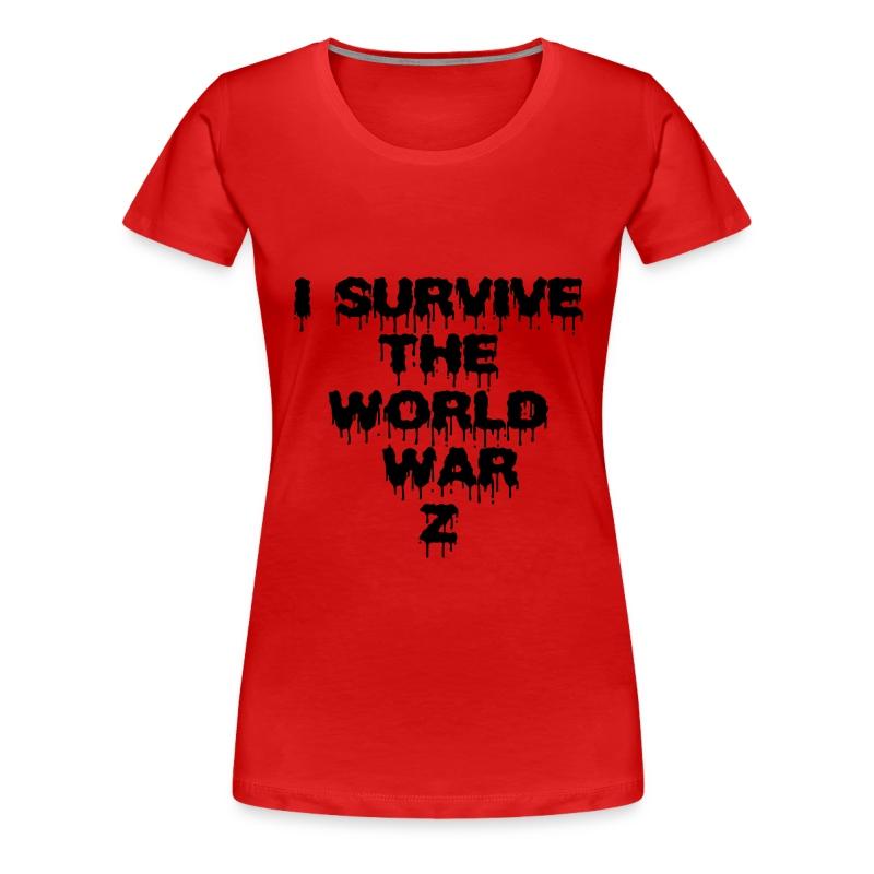 WORLD WAR Z - Camiseta premium mujer