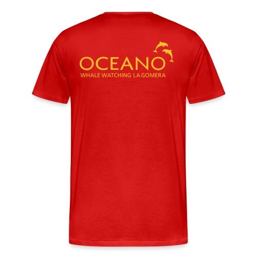OCEANO Männer Basis T-Shirt - Männer Premium T-Shirt