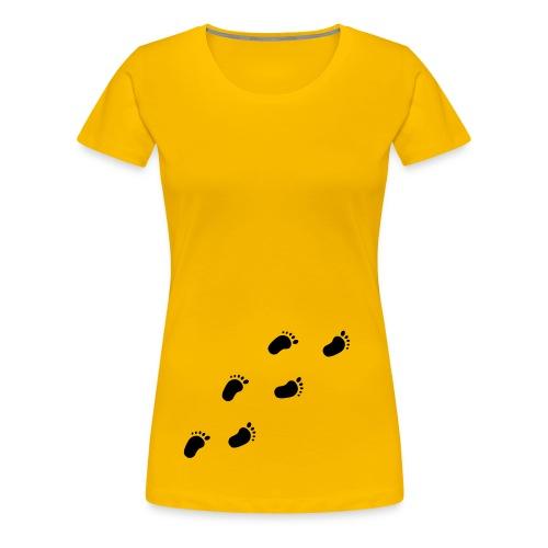 Babyfüße - Frauen Premium T-Shirt