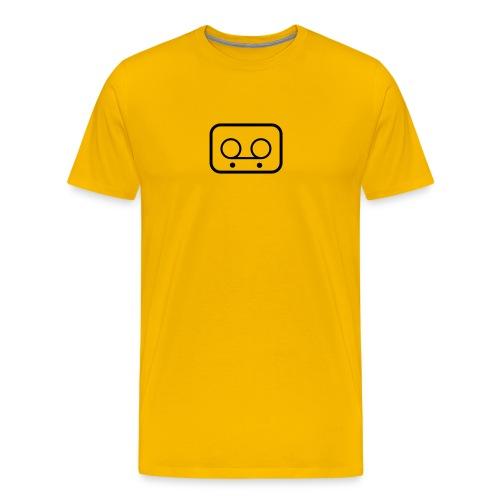 Play+Record - Premium T-skjorte for menn