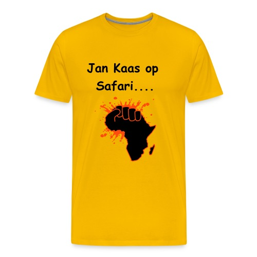 Jan Kaas Safari - Mannen Premium T-shirt