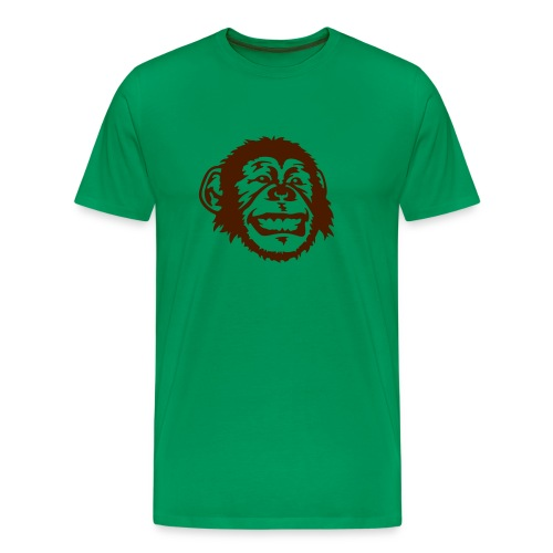 Monkeyface - Premium T-skjorte for menn