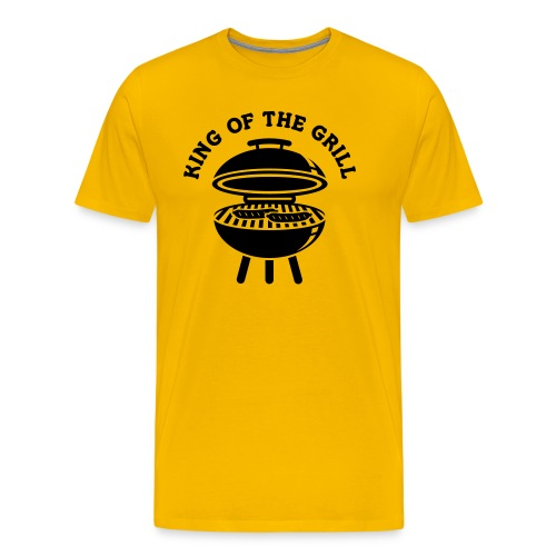 King of the Grill - Männer Premium T-Shirt