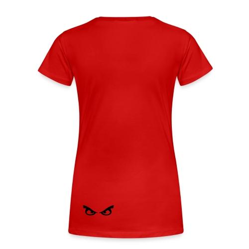 look at my eyes - Women's Premium T-Shirt