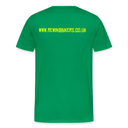 Rewind Men's Classic T-Shirt (Green) - Men's Premium T-Shirt