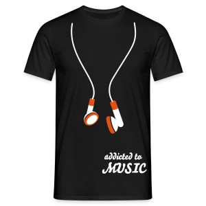 ADDICTED TO MUSIC - Camiseta hombre