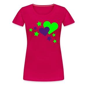 RakkausPakkaus - Naisten premium t-paita