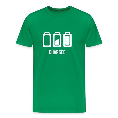 battery - Men's Premium T-Shirt