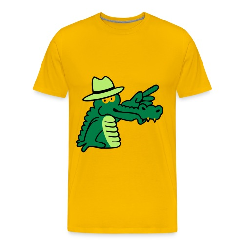 Crocodile Shirt - Men's Premium T-Shirt
