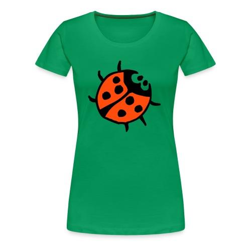 Klassisk T-shirt ladybug - Premium-T-shirt dam