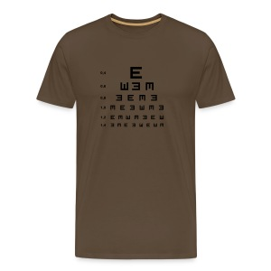 Eye Test - t shirt  - Men's Premium T-Shirt