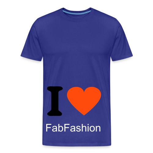 Love FabFashion - Herre premium T-shirt