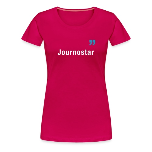 Journostar Damen - Frauen Premium T-Shirt