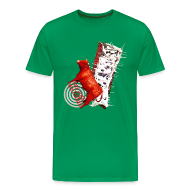 T-shirts ~ Herre premium T-shirt ~ Let out the bull, t-shirt