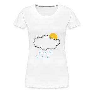 Every Cloud has a Silver Lining T-Shirt - Women's Premium T-Shirt