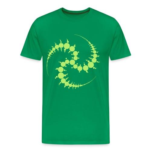 Cropcircle / Kornkreis - T-Shirt - Männer Premium T-Shirt