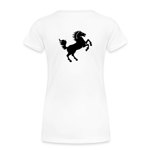 dames shirt korte mauwen - Vrouwen Premium T-shirt