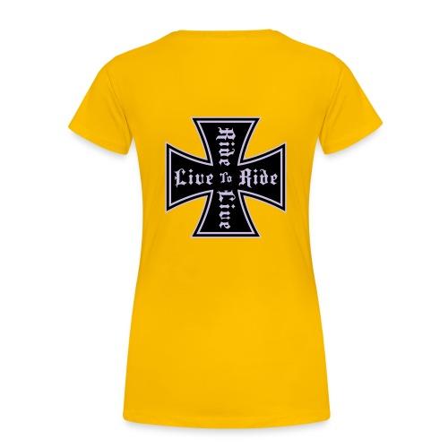 Modèle de présentation - T-shirt Premium Femme