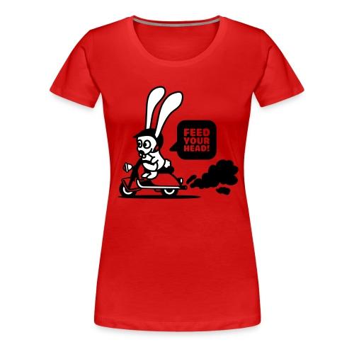 Rabbit - Frauen Premium T-Shirt