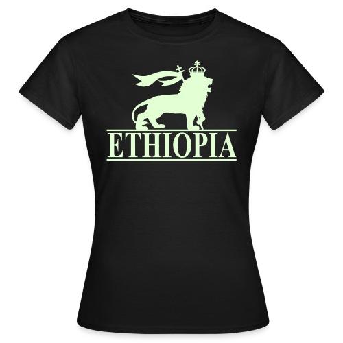ETHIOPIA PHOSPHORESCENT - T-shirt Femme