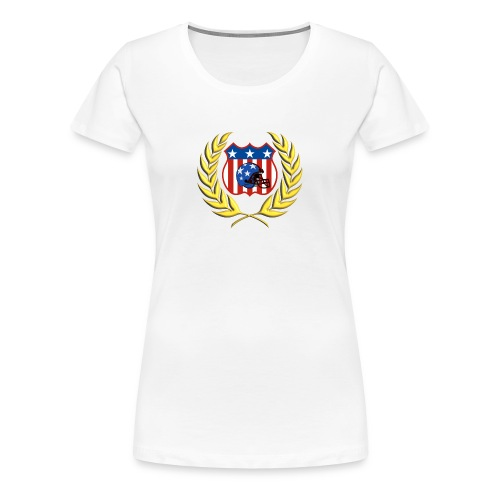 LADIES FOOTBALL CHAMPION T-SHIRT - Women's Premium T-Shirt