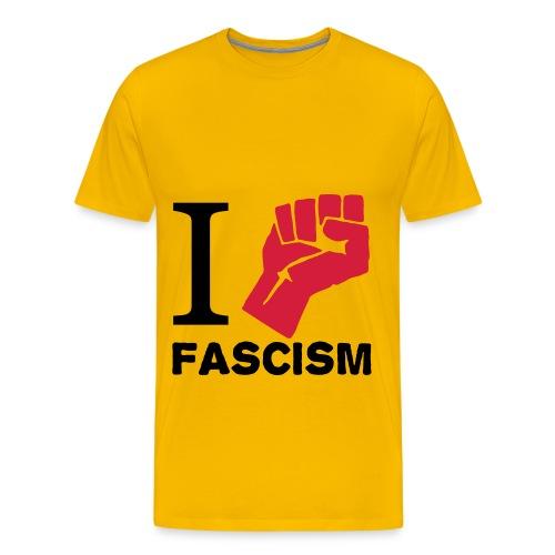 Antifascista - Camiseta premium hombre