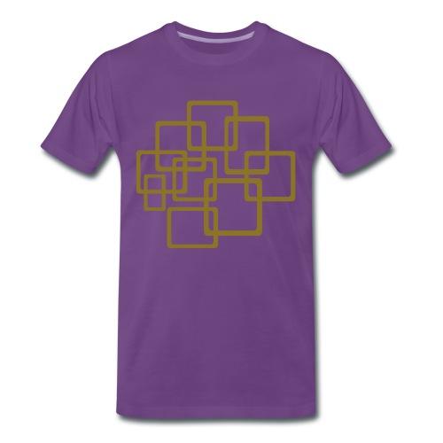 quadrant - Mannen Premium T-shirt