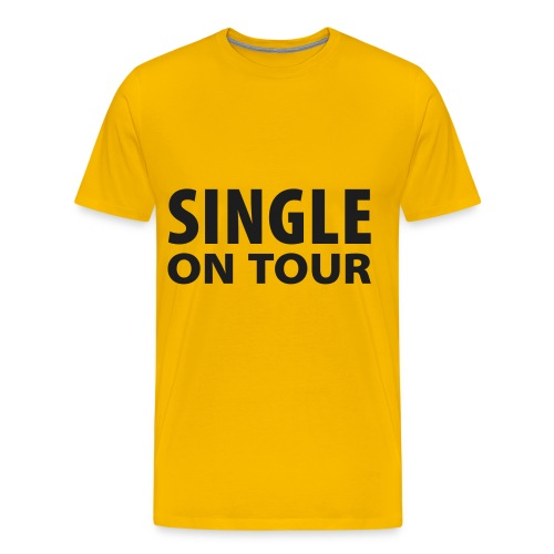 ook single? - Mannen Premium T-shirt