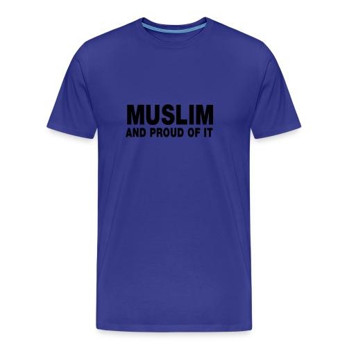 t- shirt homme confort bleu - T-shirt Premium Homme