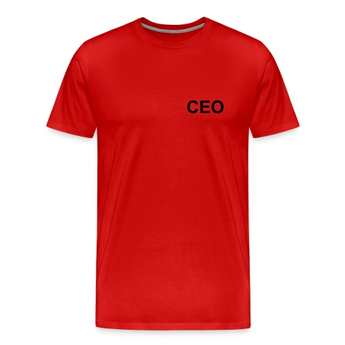Red CEO t-shirt - Men's Premium T-Shirt