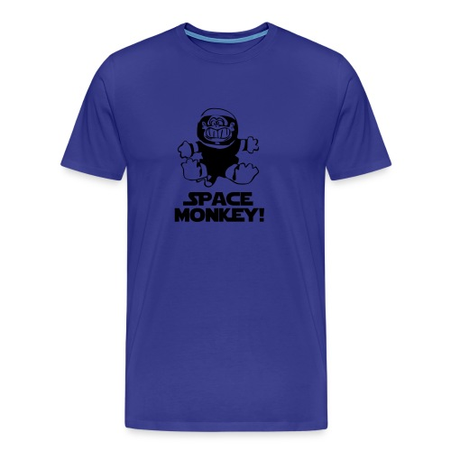 Space Monkey! - Men's Premium T-Shirt