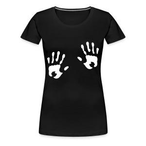 naisten t-paita kädet - Naisten premium t-paita