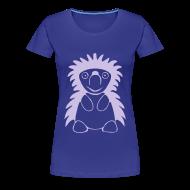 T-Shirts ~ Frauen Premium T-Shirt ~ Igel königsblau