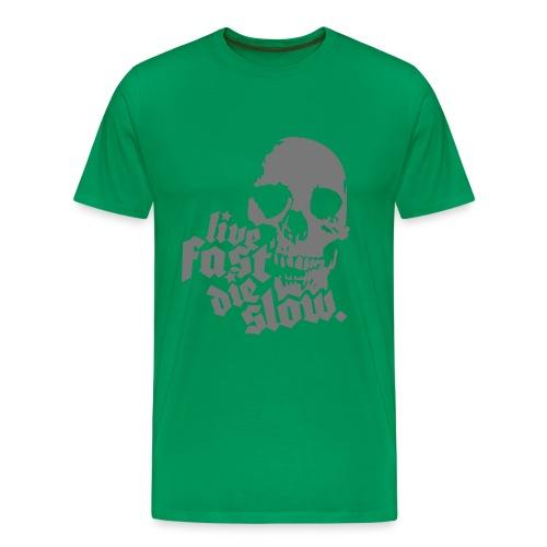 Live Fast - Koszulka męska Premium