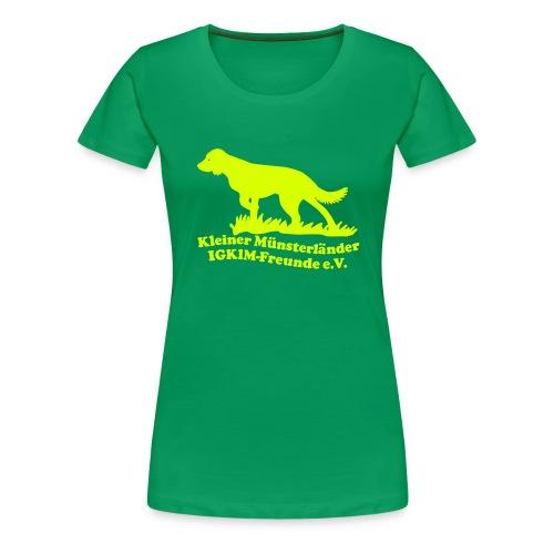 T-Shirt tailliert - Frauen Premium T-Shirt