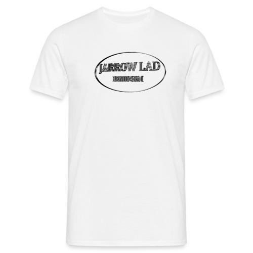 Jarrow Lad Benidorm Oval  - Men's T-Shirt