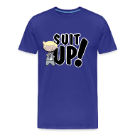 Camisetas ~ Camiseta premium hombre ~ Camiseta How I met your mother, Barney Stinson Suit Up - chico manga corta