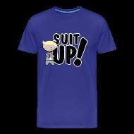 Camisetas ~ Camiseta premium hombre ~ Camiseta How I met your mother, Barney Stinson Suit Up - chico manga corta