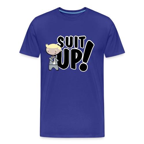 Camiseta How I met your mother, Barney Stinson Suit Up - chico manga corta - Camiseta premium hombre